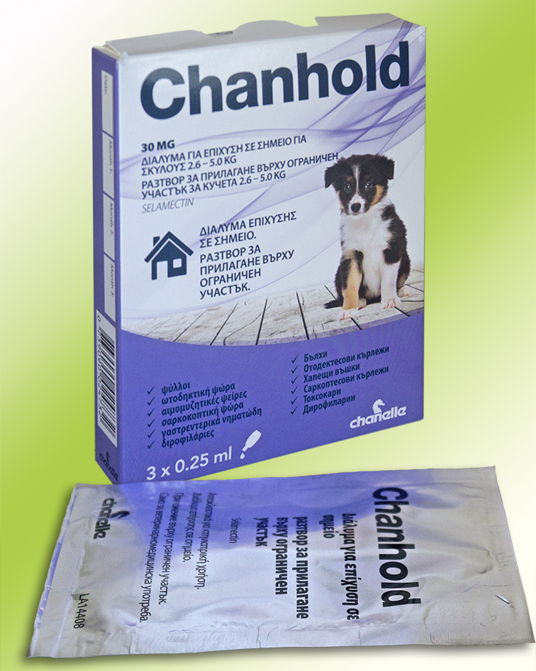 CHANHOLD DOG 2.6 - 5.0 KG